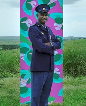 Captain Vinny Pillay from the Unhlali police station in KwaZulu-Natal was chosen as South Africa's first Integrity Idol for his honesty and commitment to his job (Photo: Supplied)