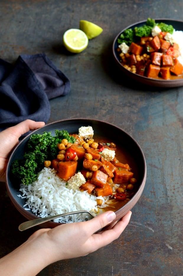 vegetarian butternut masala curry recipe
