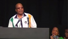 WATCH: Zuma does comedic jig after fumbling over ANC membership number