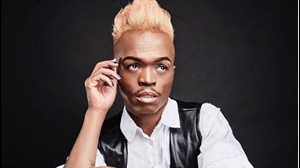 Somizi is the first African man to become the face of a global make up brand