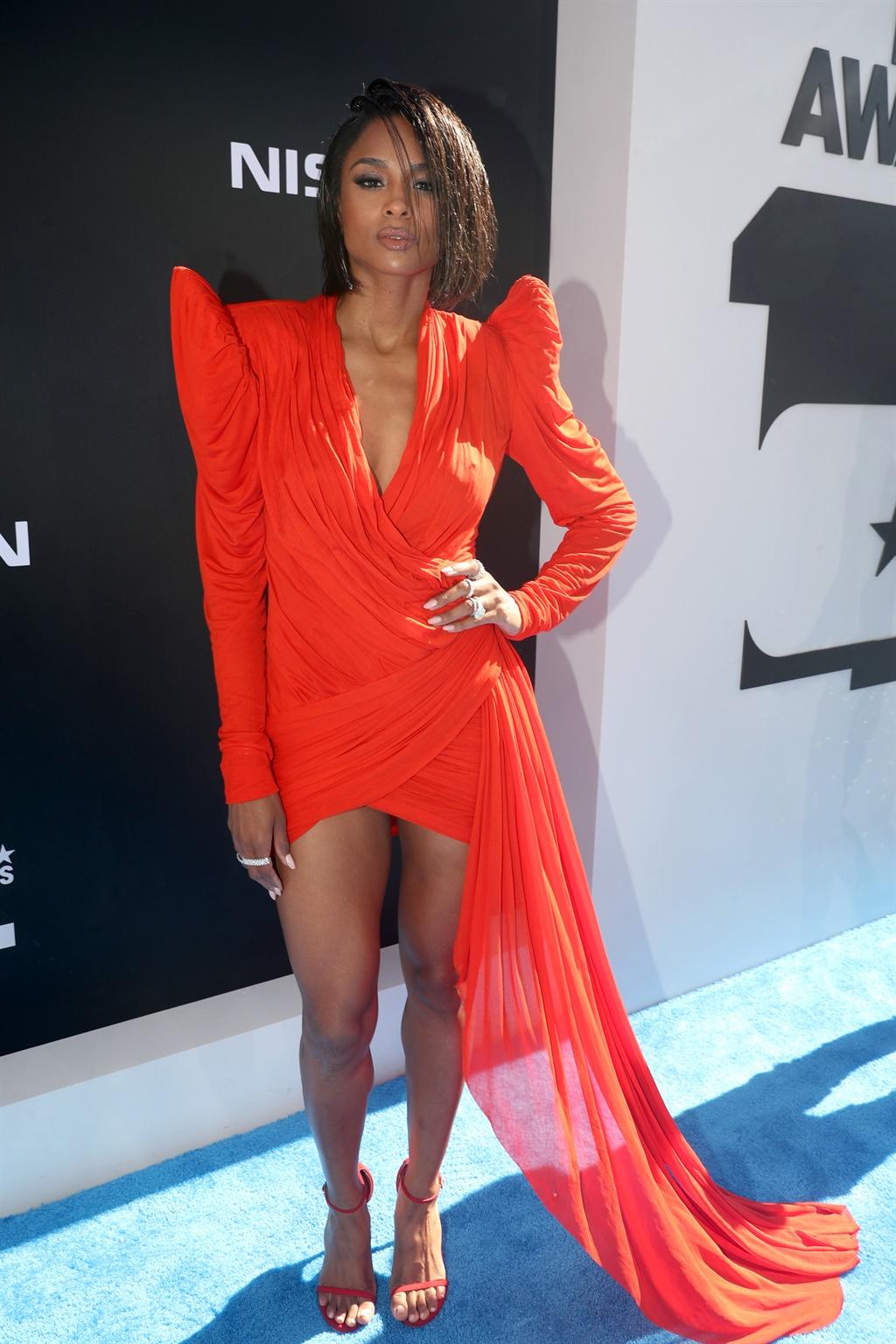 LOS ANGELES, CALIFORNIA - JUNE 23: Ciara attends t