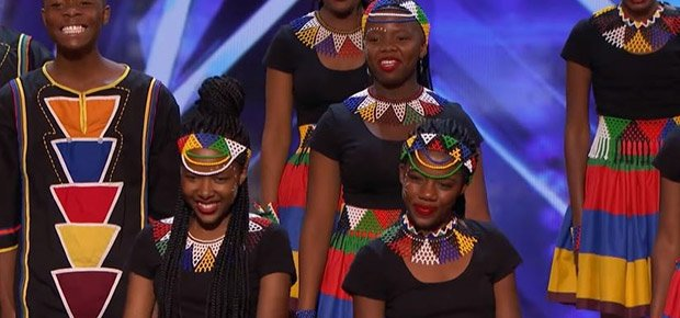 The Ndlovu Youth Choir on 'America's Got Talent.'