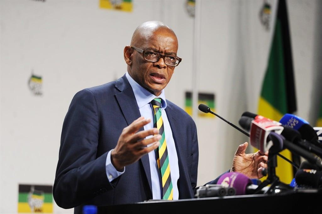 ANC secretary-general Ace Magashule. Picture: Jabu Kumalo