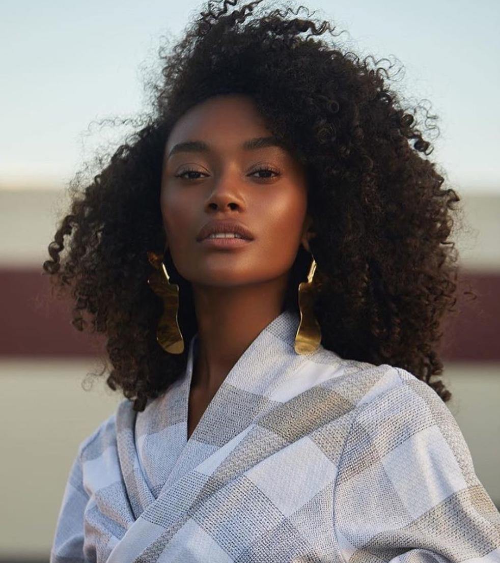 south african women natural hair