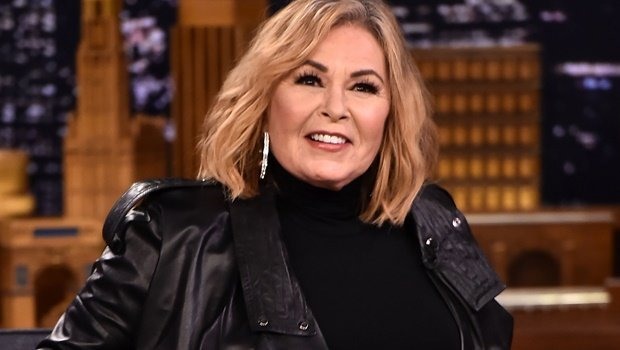 Actress and comedian Roseanne Barr during an appearance on Jimmy Falon's show earlier this year.