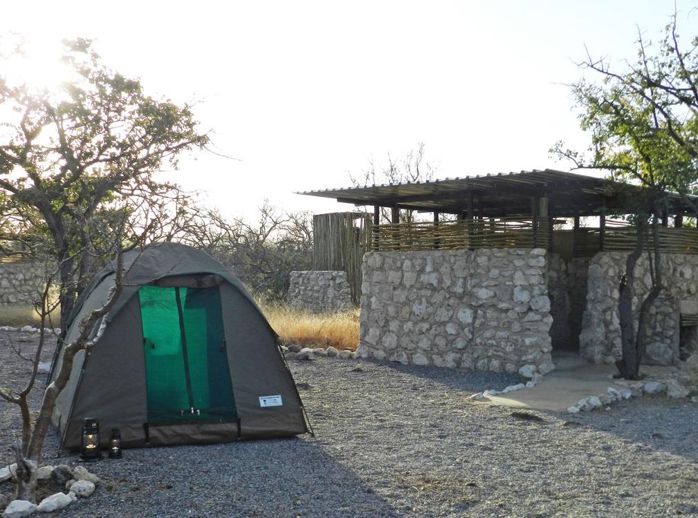 Etosha Village-kampterrein