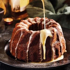 Photo: Malva pudding with brandy sauce