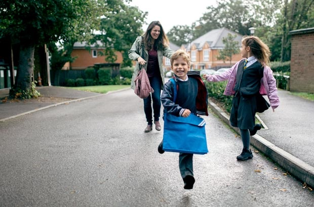 Our little ones are growing up and moving on to big school! So naturally, as they adapt, our parenting style might have to as well.