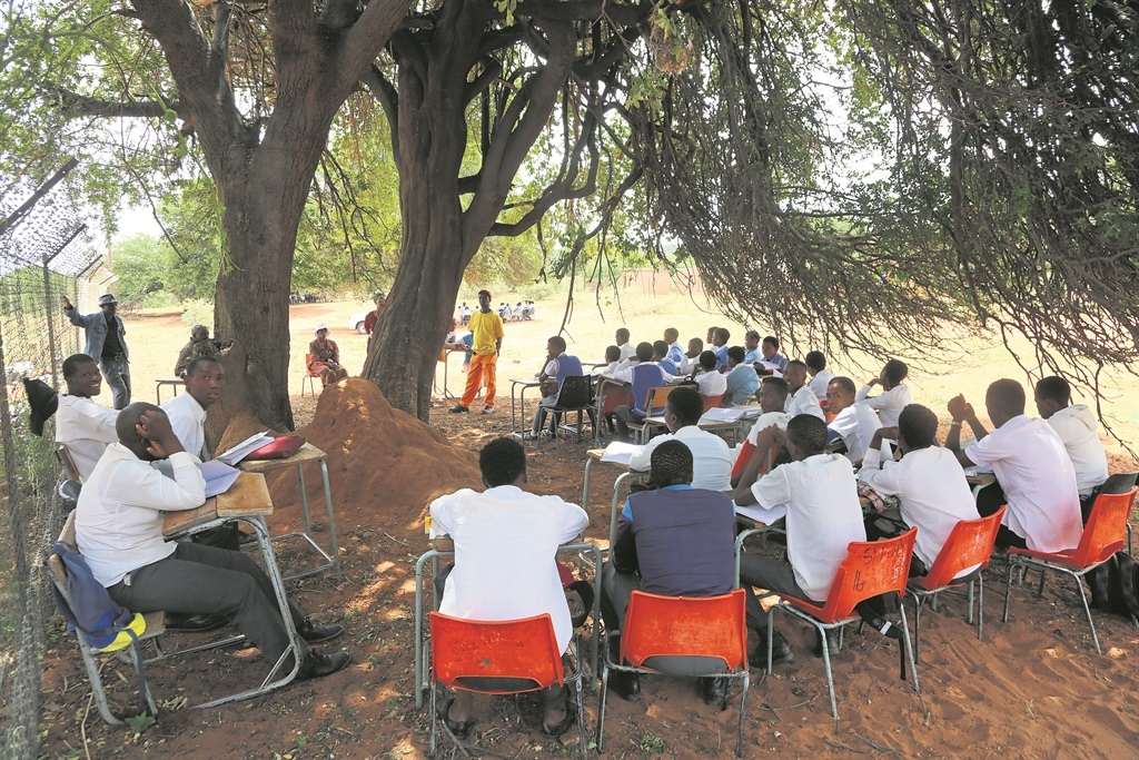 No Hope For Kids Learning Under Trees