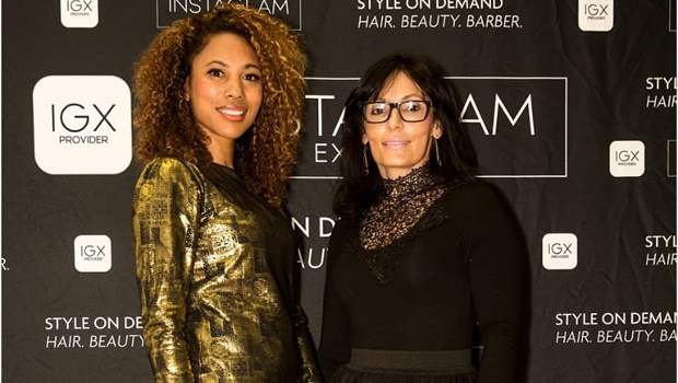 Instaglam founders Natasha Summers and Chris Fisher. Photo: Supplied