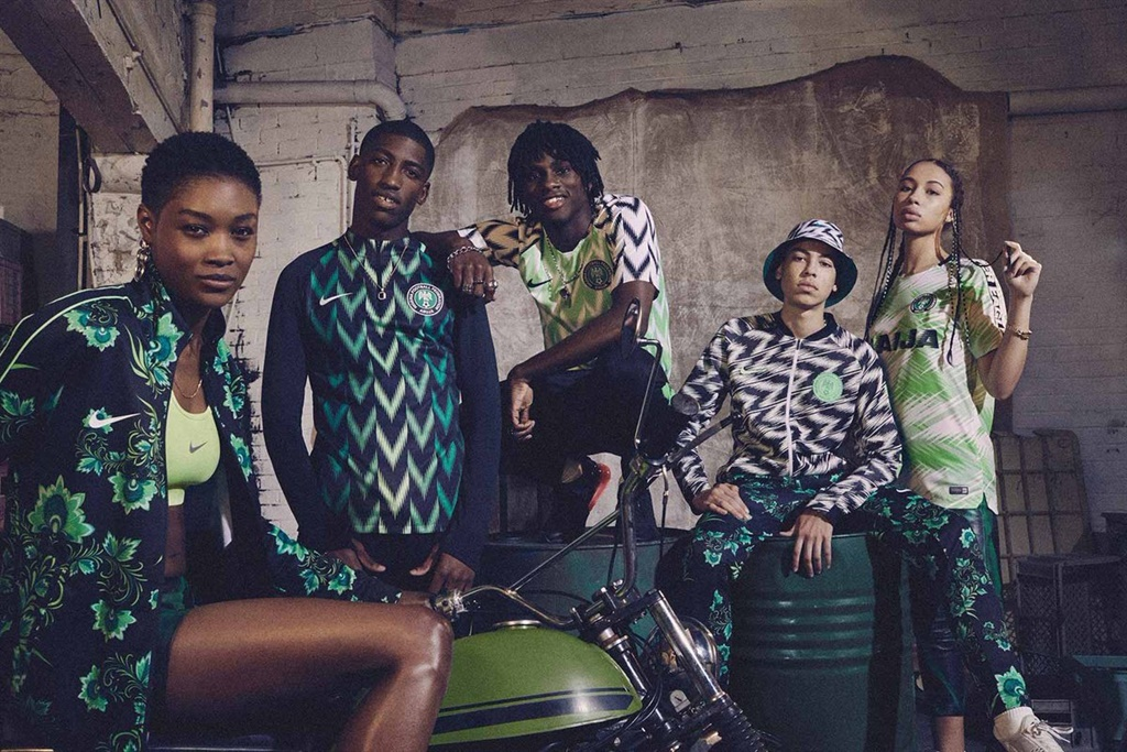 cf19cdd98 Nigeria s world cup kit wows the world