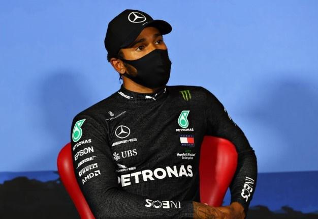 Lewis Hamilton. (Photo by Mario Renzi - Formula 1/Formula 1 via Getty Images)