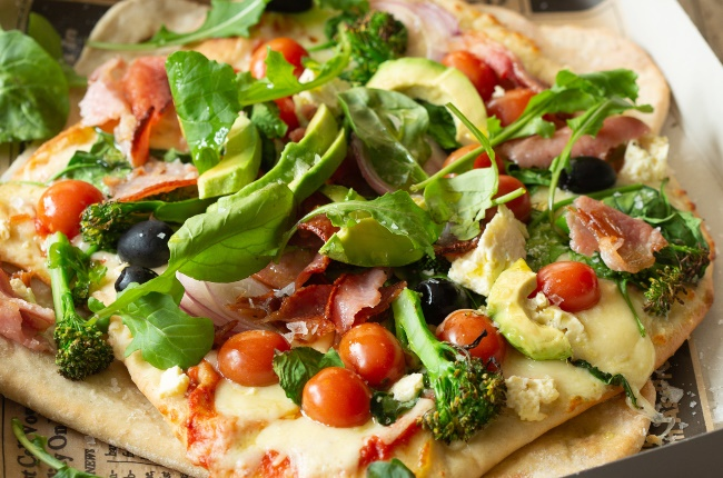 Thin-base pizza. (PHOTO: Misha Jordaan)
