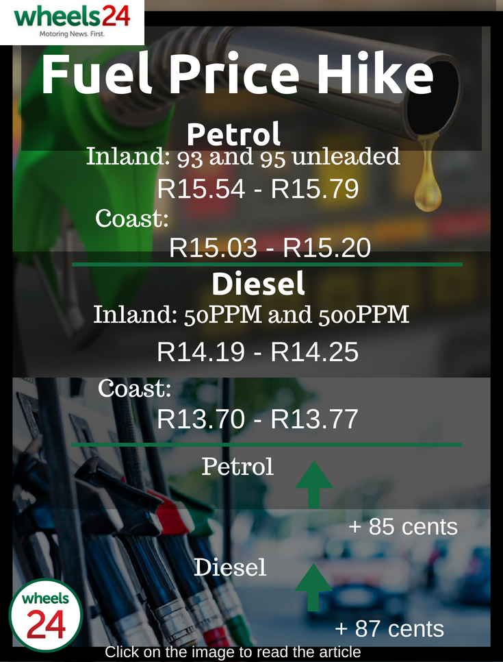 SEE: Record SA fuel price hike - here's how much more you'll