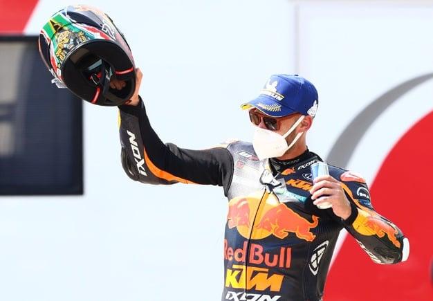 Brad Binder, Czech MotoGP. 9 August 2020 - Gold & Goose/Red Bull Content Pool.