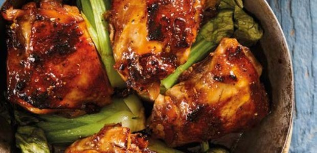 Asian chicken thighs