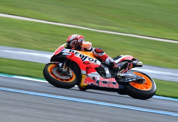 a85395b802f14 WATCH  Marquez seizes pole for first Thailand MotoGP