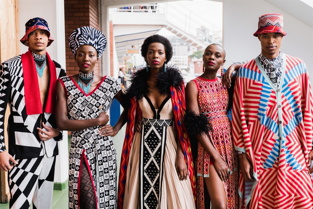 African designers at the Durban July