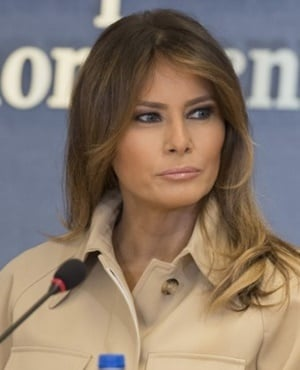 US First Lady Melania Trump. (Jim Watson, AFP)