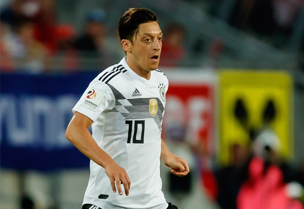 Injured Ozil to miss Germany's final World Cup warm-up