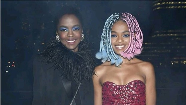 Lauryn Hill and Selah Marley in New York City
