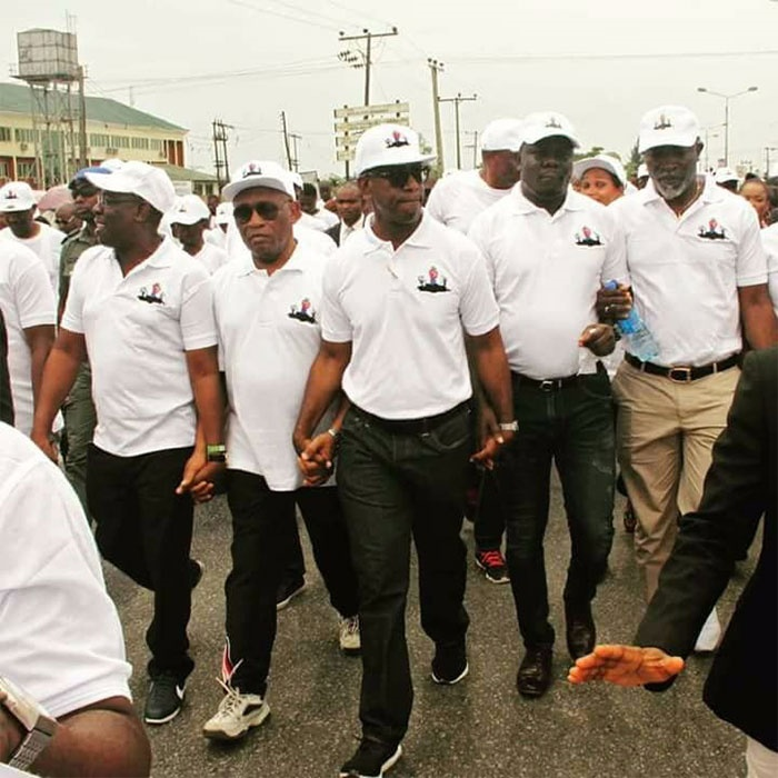 Bayelsa march against pollution by illegal refiner