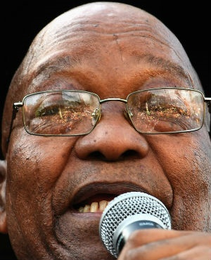 Former president Jacob Zuma has threatened to air the dirty laundry of those who keep talking about him in public. (Felix Dlangamandla, Netwerk24)