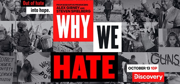 The documentary 'Why We Hate' will premiere this S