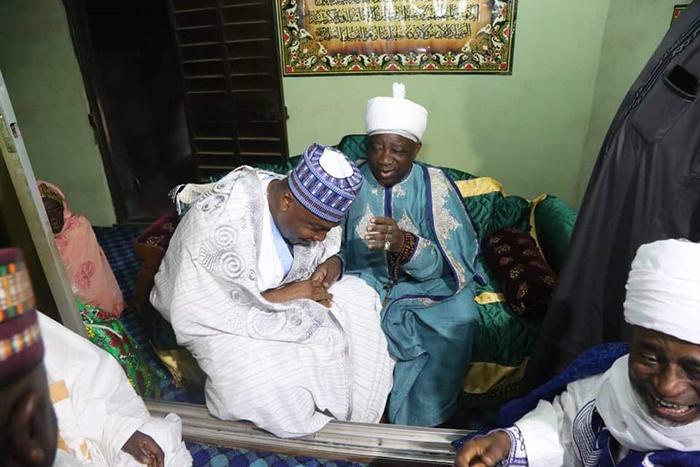 emir of ilorin give saraki new title