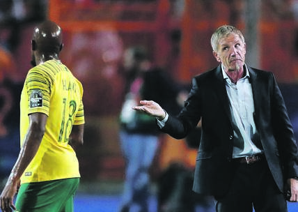 CUL-DE-SAC Stuart Baxter's future as Bafana coach looks bleak after the team was kicked out of Afcon.       Picture: Amr Abdallah / Reuters