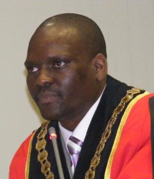 Mayor Mluleki Ndobe