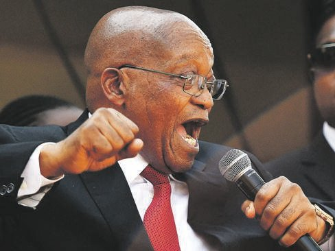 SHOWING UP Former president Jacob Zuma. Picture: Tebogo Letsie