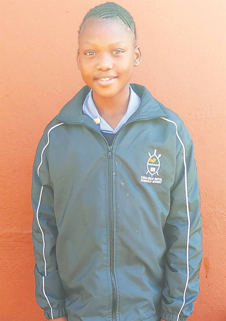 Congratulations to Andiswa Myaka, who was selected for the U13A KZN Inland Hockey Team. photo: supplied