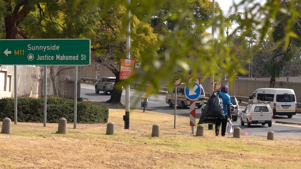 This homeless man, who did not want to be identified told News24 that he doesn't even stop to rest in the Magnolia Dell park anymore.