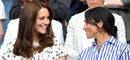 Catherine, Duchess of Cambridge and Meghan, Duches