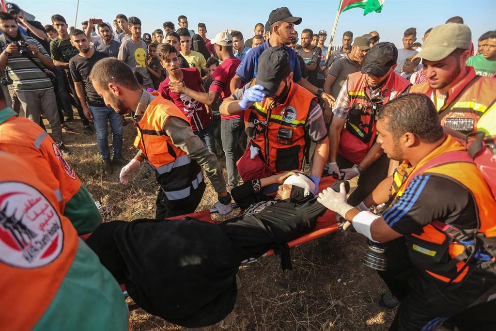News24.com | Israeliese oorlogsvliegtuie het Gasa getref ná die Palestynse raketaanval