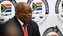 WATCH LIVE: Zuma's state capture inquiry testimony enters third day