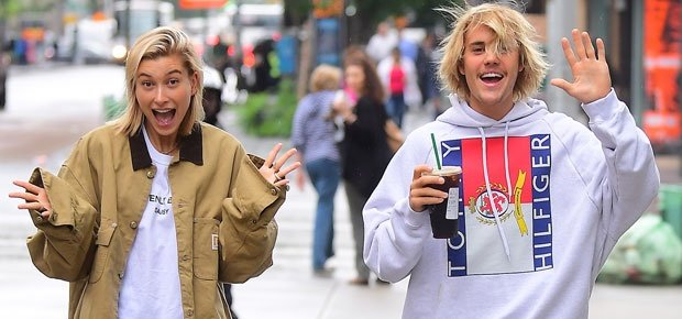 Hailey Baldwin and Justin Bieber