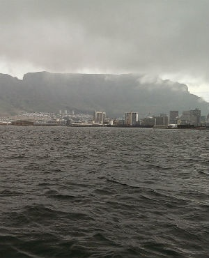 Cape Town faces a flooding threat from climate change, according to a report. (Duncan Alfreds, News24)