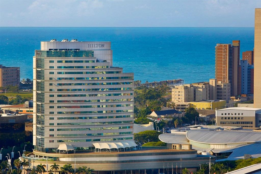 The Hilton Durban Hotel.