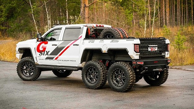 Hennessey Goliath, Dodge T-Rex, Mercedes G63 6x6 - Why these