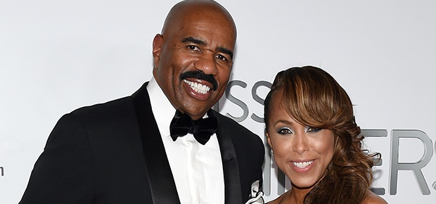 Steve and Marjorie Harvey. (Getty Images)