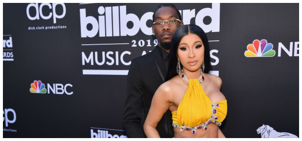 Offset and Cardi B (PHOTO: Getty/Gallo Images)