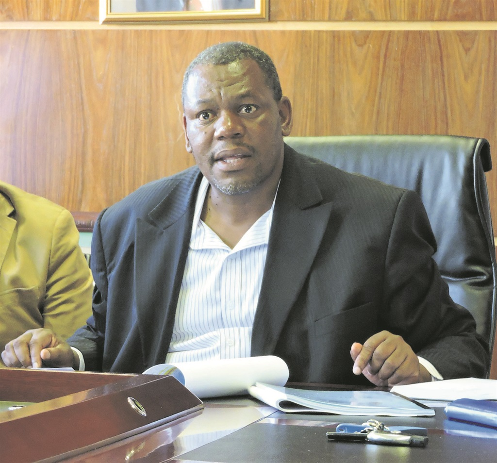 ANC suspends Matjhabeng mayor after 'boesman' slur - News24