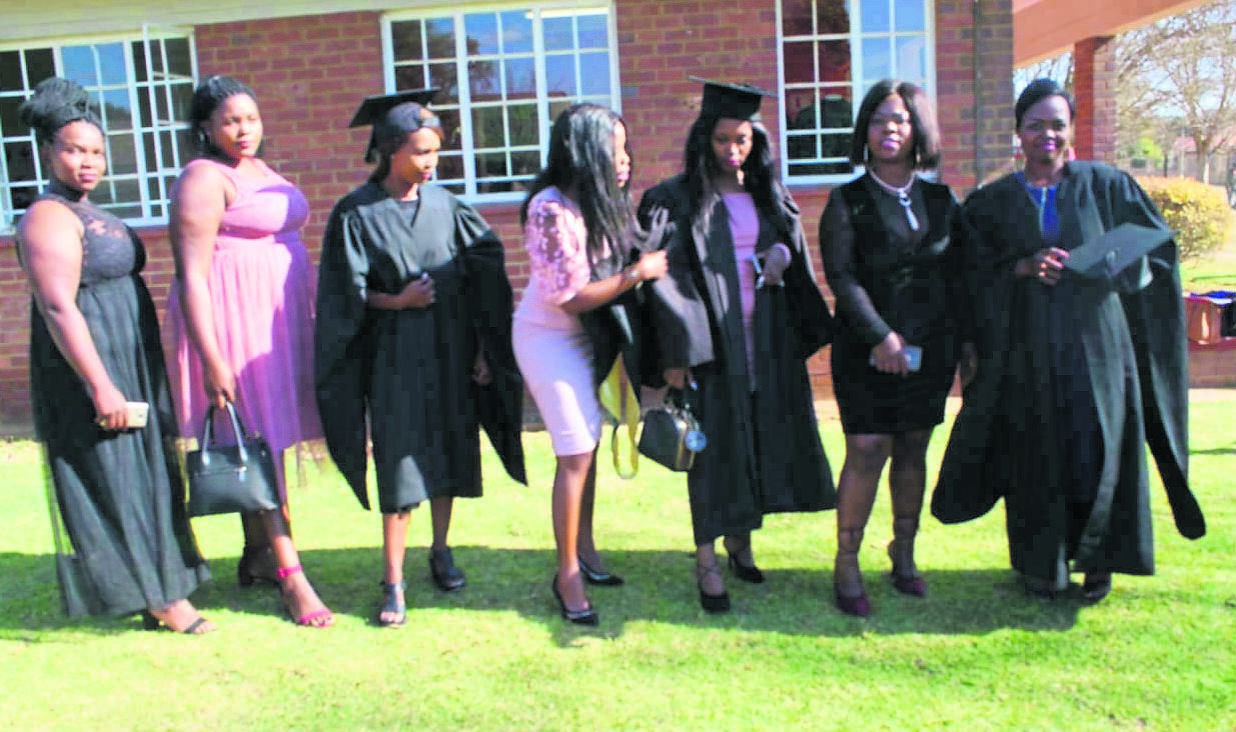 photo: suppliedSome of the students that graduated at Greytown eCampus.