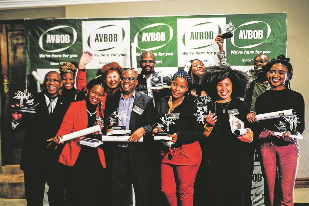 All of the winners at the awards ceremony in Pretoria this week Picture: Mpumelelo Buthelezi