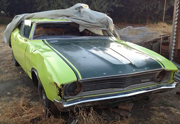 WATCH How Sweet This Heartwarming Family Carrestoration Will - Restore a muscle car car show