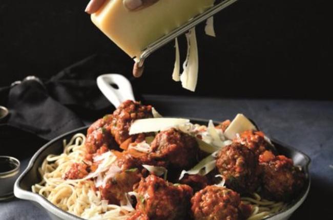 Meatballs in rich tomato gravy. (Photo: Supplied Dorah Sitole)