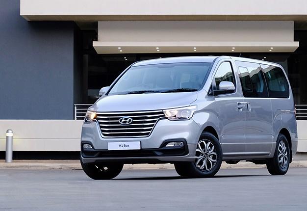 Bold new van: Hyundai's fresh H1 Bus in SA arrives in SA ...