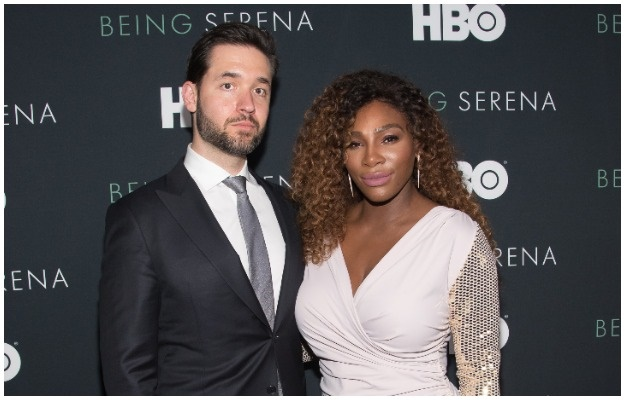 Alexis Ohanian and Serena Williams. (Photo: Getty/Gallo Images)
